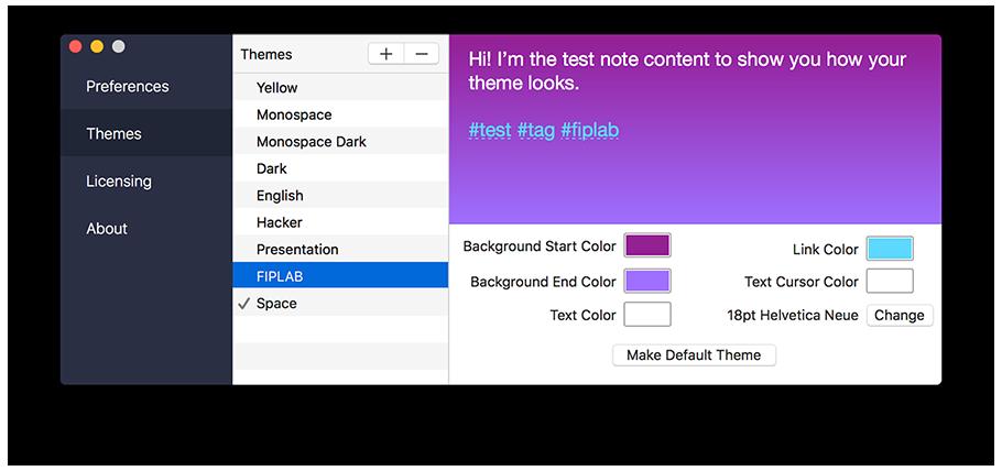 Handy Note for Mac 1.1.1 激活版 - 增强版便签软件