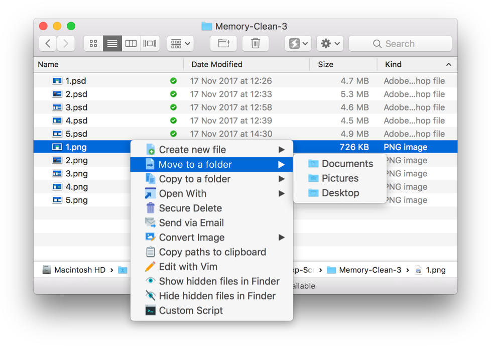 Power Menu: Our workflow enhancing Finder extension for Mac